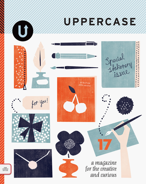 CoverArt for Issue 17 Uppercase